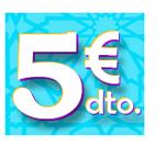 Descuentos 5€